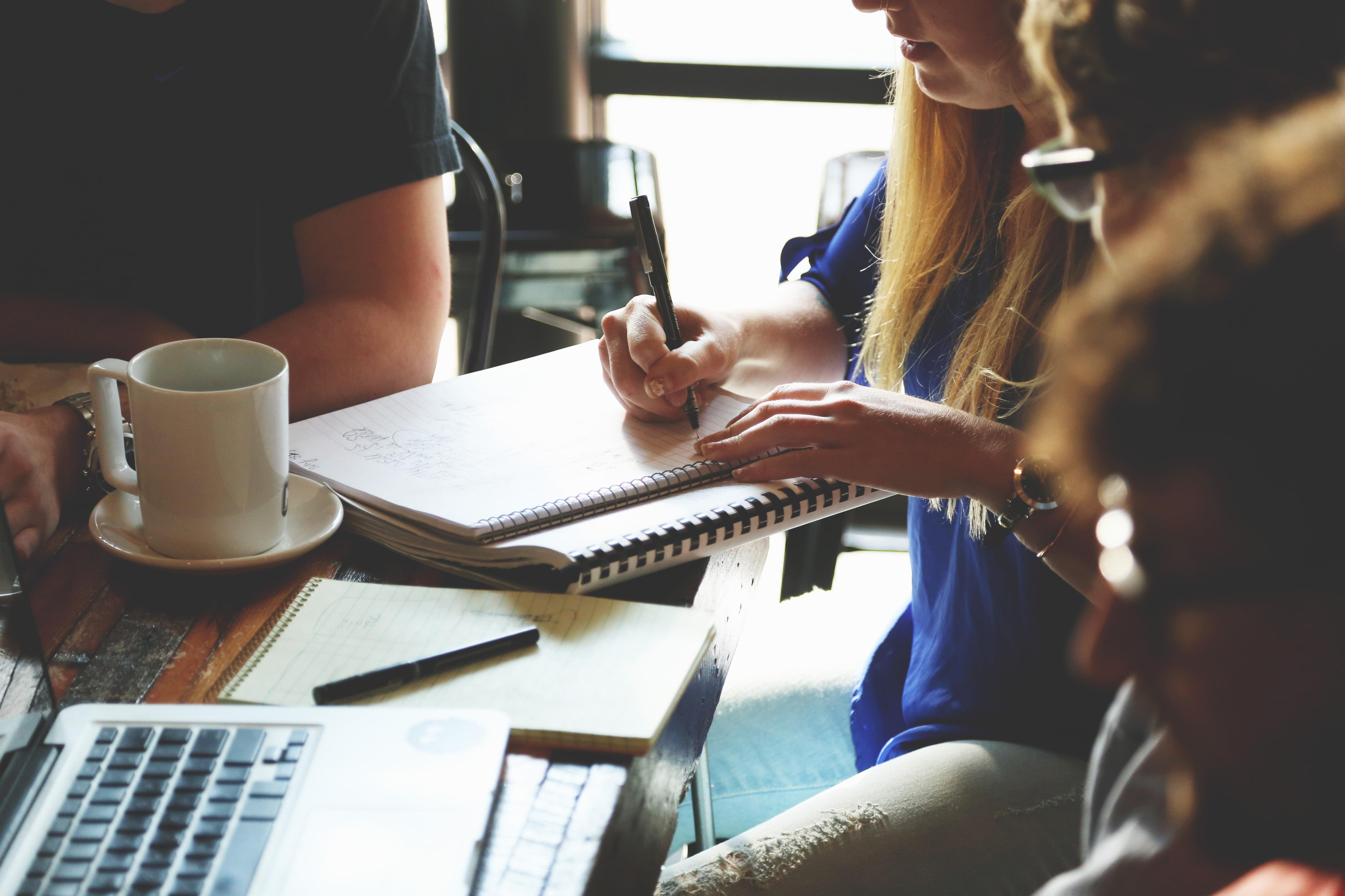 Personer som studerar